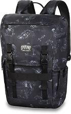 Dakine LEDGE 25L Mens Skate/School Laptop Backpack Bag Graveside Black
