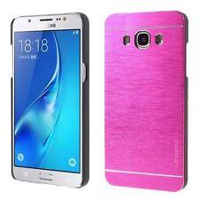 Coque Etui Protection Rigide Luxe Aluminium Rose Pink Samsung Galaxy J3 2016