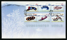 2012 Underwater World FDC First Day Cover Stamps Australia