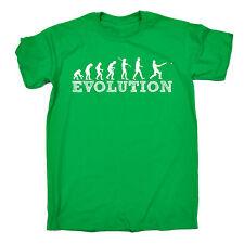 EVOLUTION CRICKET T-SHIRT wicket bat batsman bowler funny birthday gift 123t