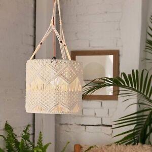 Urban Outfitters Home Decor Mischa Macrame Lamp Shade Boho