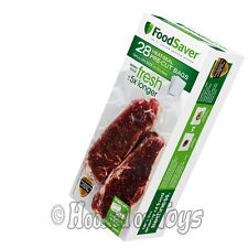 FoodSaver GameSaver 28 Gallon-sized Bags for Vacuum Heat Sealer FSFSBF0326-000