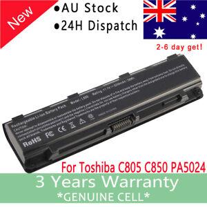 Battery For Toshiba Satellite C850 C850D L850 L850D P850 Model# PA5024U-1BAS