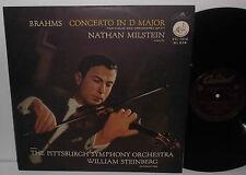 CTL 7070 Brahms Violin Concerto Nathan Milstein Pittsburgh Sym Orch Steinberg