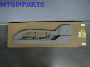 SATURN OUTLOOK DRIVER POWER SEAT SWITCH BEZEL PANEL GRAY 2009-2010  25941791
