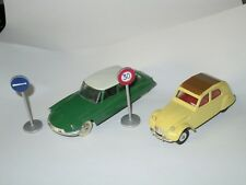 Lot voitures miniatures model car Dinky Toys Atlas Citroën DS 19 DS19 2CV 2 CV
