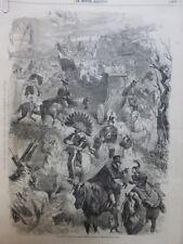 1859 Mid Paris Masquerade Sevres Mardi Gras Tracht Parade