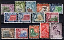 P134050/ PITCAIRN ISLANDS / SG # 11 / 12 – 18 / 28 MH FULL SETS CV 141 $