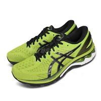 Asics Gel-Kayano 27 4E Extra Wide Lime Zest Black Men Running Shoes 1011A833-300