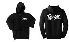 Ranger Boats Black Hoodie Sweatshirt