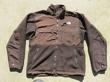 Mens The NORTH FACE Brown Denali Vented Polartec Fleece Sweater Jacket Medium