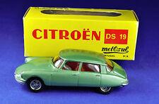 Voiture miniature/MODEL METOSUL Portugal: 48 CITROEN DS 19, 1:43, vert/green métal