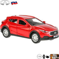 Diecast Car Scale 1:36 Infiniti QX30 Subcompact Crossover Russian Model Toy Cars