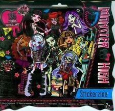 Monster High Stickerzine Album ~ includes 135 Stickers ~ BN ~ Great Gift!