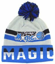 NBA Officially Licensed Orlando Magic Mitchell & Ness Blue Gray Print Cuffed Pom