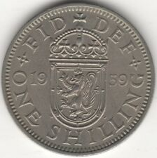1959 S Elizabeth II One Shilling Better Date | British Coins | Pennies2Pounds