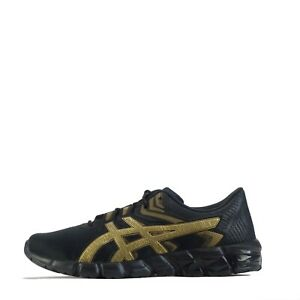 Asics Gel Quantum 90 2 Men's Casual Running Trainers Shoes Black Gold