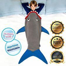 Enfants Requin Chaud Couverture Souple Polaire Cosy Mode Sac de Couchage Un Size
