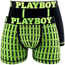 lot 2 boxers PLAYBOY noir/vert taille 4 (L) - neuf