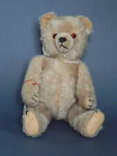 Hermann Teddy 1950 echt Antik hell blond
