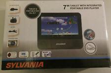 "Sylvania 7"" Portable DVD Player & Tablet with Android 4.4 KITKAT SLTDV7200-UK"