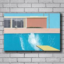 N-484 David Hockney A Bigger Splash Artist Hot Wall Poster Art 20x30 24x36IN
