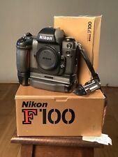 nikon f100 camera MB-15 All Good, Boxed.