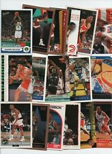 GEORGIA BULLDOGS 50 CARD BASKETBALL & BASEBALL LOTANDERSON, WILKINS, FLEMING...