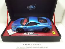 Ferrari 458 ITALIA 2009 AZZURRO MONACO (Limited 50 pcs) - BBR RCDL03 - 1:18