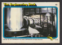 Topps - Star Trek - The Motion Picture 1980 - # 43 The Engineering Deck