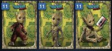 Topps Marvel Collect EARTH DAY GROOT TILT 3-CARD SET