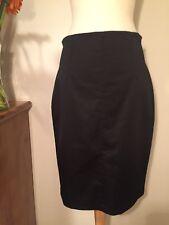 Mango Black Pencil Skirt 10
