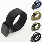 Men's Practical Sport Tactical Military Nylon Buckle Waist Belt Waistband Deft