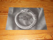 THE ALAN PARSONS PROJECT - VULTURE CULTURE / 6 PAGE PROMO-HEFT (DINA-4) 1985
