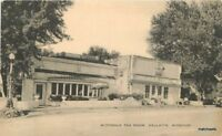 Artvue 1940s Gallatin Missouri McDonald Tea Room postcard 10545