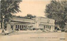 Artvue 1940s Gallatin Missouri McDonald Tea Room postcard 10545