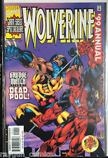 Wolverine Annual 1991 Deadpool Apearance VF 1st Print Free UK P&P Marvel Comics