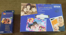 EpsonPictureMate Personal Photo Lab Express Edition Printer New With PRINT PACK