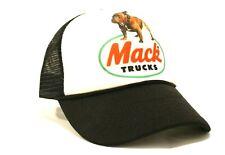 New Mack Trucks Trucker Hat Cap Mesh Snapback Bulldog Logo Trucking Trucker's