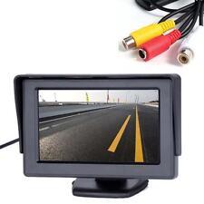 "4.3 ""TFT LCD Ecran Rotary BACKUP Car inversion rétroviseur GPS caméscope DVD AH"