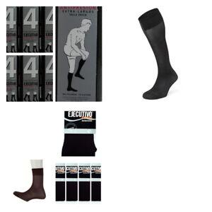 12 pares calcetines EJECUTIVO(Berkshire) largos o cortos puño relax negro 40 den