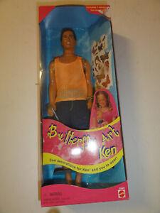 Butterfly Art KEN 1998 Barbie Doll New in box