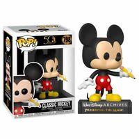 Figura Funko POP CLASSIC MICKEY 798 Disney Archives 50 Aniversario