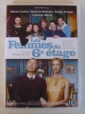 DVD LES FEMMES DU 6e ETAGE - Fabrice LUCHINI / Sandrine KIBERLAIN / Carmen MAURA