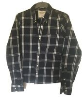 Abercrombie&Fitch Plaid Cotton Long Sleeve T Shirt XL(C791)