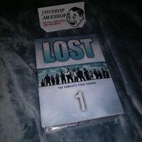 LOST SEASON 1 / SERIES 1 -NTSC USA CAN DVD 7-DISC SET BONUS FEATURES R1 REGION 1