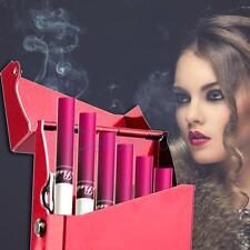 Lady Women Slim Aluminum Cigarette Case Metal Holder Box for 100's King Size Y