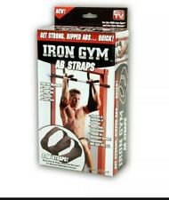 PRO FIT Iron Gym Ab Straps (2) AB STRAPS Get Strong Ripped ABS Quick, New