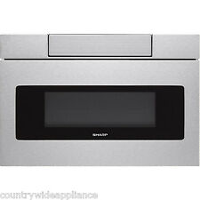 "Sharp Insight Stainless 30"" Microwave Drawer LCD Display SMD3070AS SMD3070ASY"