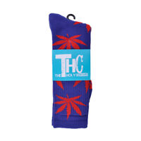 THC The Holy Couture Plant Life Blue Red Socks